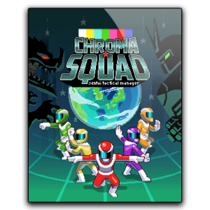 """Cover"" art for Chroma Squad"